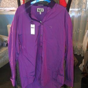 Purple dress shirt express